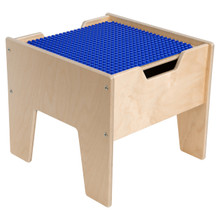 2-N-1 Activity Table with Blue DUPLO™ Compatible Top - Fully Assembled