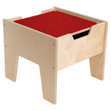 2-N-1 Activity Table with Red DUPLO™ Compatible Top - Fully Assembled