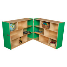 "WD13700G Green Apple™ Folding Storage, 38""H"