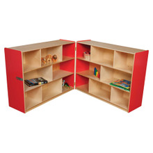 "WD13700R Strawberry Red™ Folding Storage, 38""H"