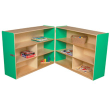 "WD13730G Green Apple™ Folding Versatile Storage Unit, 38""H"