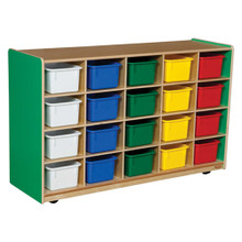 WD14503G Green Apple™ 20 Tray Storage with Assorted Trays