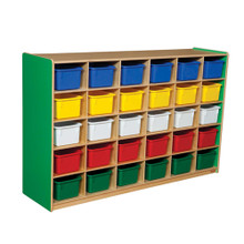 WD16033G Green Apple™ 30 Tray Storage with Assorted Trays