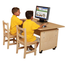 "WD41560 Adjustable Height Computer Table 60""W"