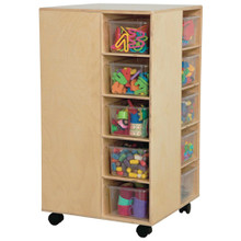 WD61401 Cubby Spinner with Translucent Trays