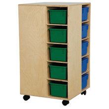 WD61403 Cubby Spinner with Assorted Trays