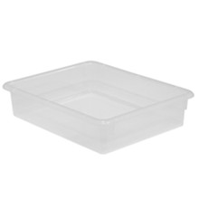 "WD73001 3"" Letter Tray - Translucent"