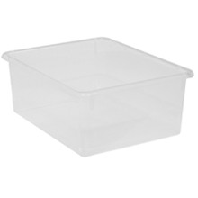"WD78001 5"" Rectangular Letter Trays - Translucent"