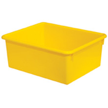 "WD78007 5"" Rectangular Letter Trays - Yellow"