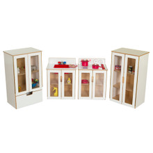 WD10085WHT My Cottage Appliance Set of Four in White
