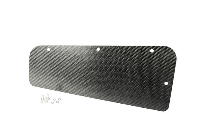 HARD MOTORSPORT CARBON FIBER E36 ECU ACCESS PANEL COVER WITH HARDWARE