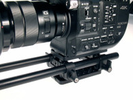 Shown on camera, iris rods sold seperately.