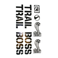 TrailBoss Sticker Pack
