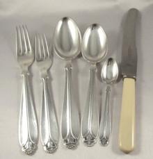 Stunning Danish silver plate Rio cutlery set.