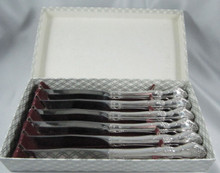 8 person Vintage Oneida Community Silver Plate Affection steak or grill knife Cutlery Set