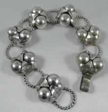 Art Deco Vintage Mexican Sterling Silver Spratling Cocos Design bracelet pre 1948