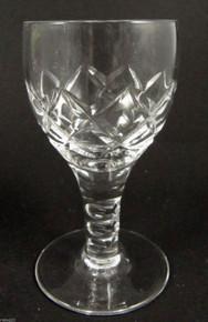 6 Vintage Stuart Crystal Beau 120ml Liqueur Glasses