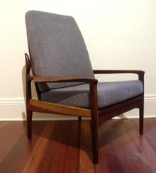 Mid-Century Modern Australian Fler Narvik Armchair (Fred Lowen)