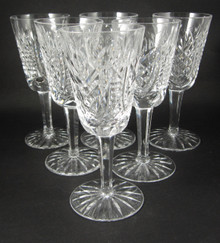 6 Vintage Waterford Crystal Clare Sweet Sticky or Sherry Glasses