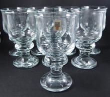 8 Vintage Holmegaard Tivoli beer lager glasses Per Lutkin 1968