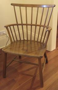 Vintage Fritz Hansen Windsor Chair by Ove Boldt