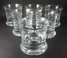 Six Vintage Holmegaard No 5 whisky Glasses Per Lutkin