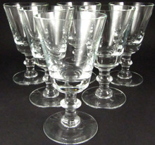 6 Vintage Holmegaard Wellington port wine glasses