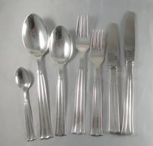 12 Person Vintage Danish Silver Plate Cutlery Set Regent By Victoria Set 3