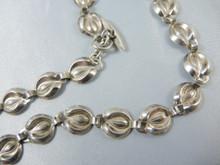Vintage Danish Sterling Silver Horseshoe Necklace Hermann Siersbol Denmark