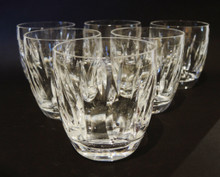 6 Vintage Waterford Crystal Blarney Double Old Fashioned Whisky Glasses