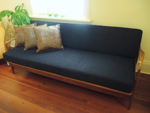 Vintage Australian T.H Brown Mid- Century lounge or day bed