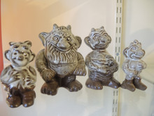 Michael Andersen & Sons Denmark pottery Troll Family