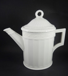 1943 Vintage Royal Copenhagen White Fan Coffee Pot