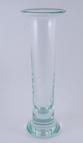 Vintage Holmegaard No 5 31cm tall vase Per Lutkin