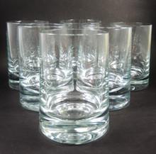 6 Vintage Holmegaard Skittle Kegle Whisky Tumblers E Kindt Larsen