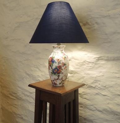 Crown Ducal 'Festival' Antique Lamp.