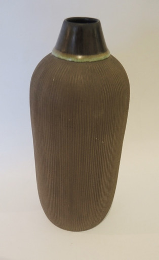 Vintage Danish BR Ceramics Bottle Vase Denmark