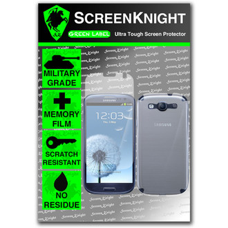 ScreenKnight Samsung Galaxy S3 Full Body Invisible Shield