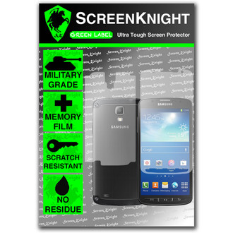 ScreenKnight Samsung Galaxy S4 Active Full Body Invisible Shield