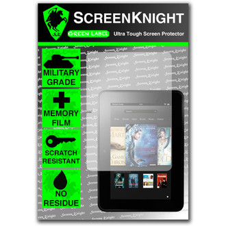 "ScreenKnight Amazon Kindle Fire HD 8.9"" Front Invisible Shield"