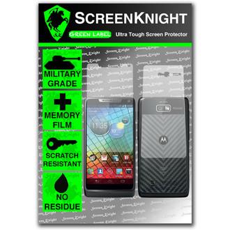 ScreenKnight Motorola Droid Razr i Full Body Invisible Shield