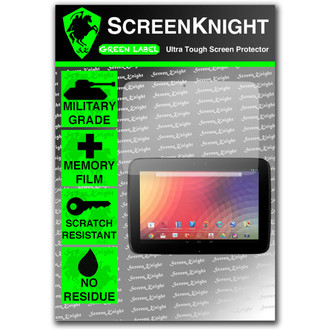 ScreenKnight Google Nexus 10 Front Invisible Shield