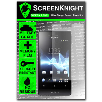 ScreenKnight Sony Xperia Miro Front Invisible Shield