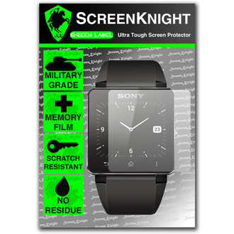 ScreenKnight Sony Smartwatch 2 Invisible Shield