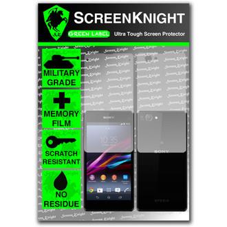 ScreenKnight Sony Xperia Z1 Compact Full Body Invisible Shield