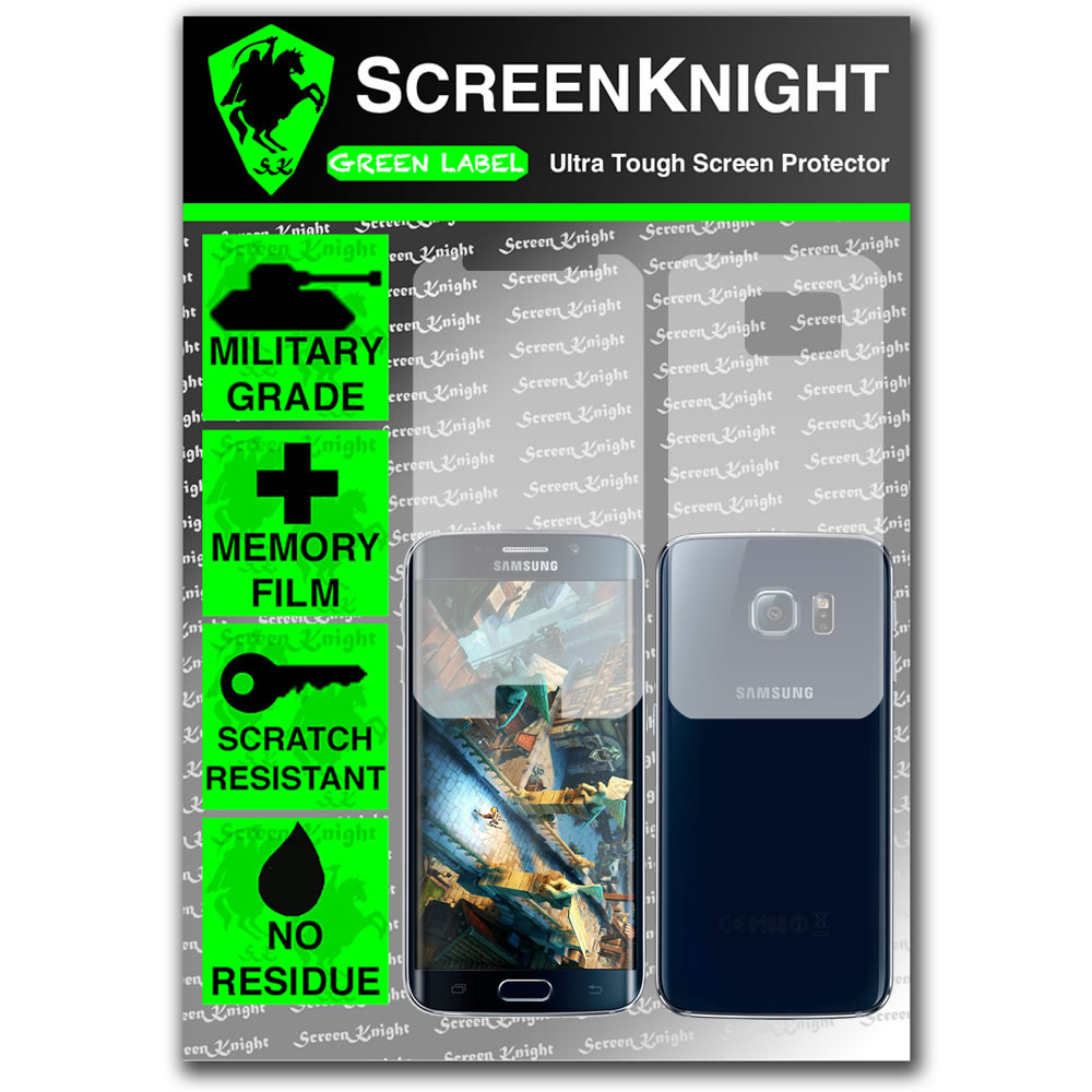 ScreenKnight Samsung Galaxy S6 Edge Full Body Invisible Shield