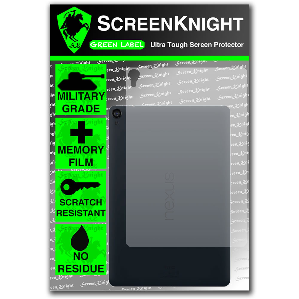 ScreenKnight Google Nexus 9 Back Invisible Shield