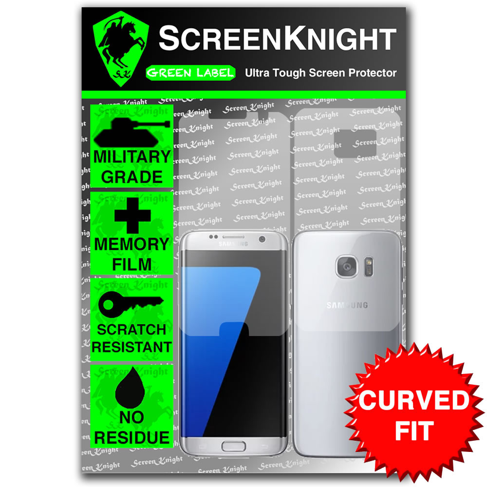ScreenKnight Samsung Galaxy S7 Edge Full Body Invisible Shield