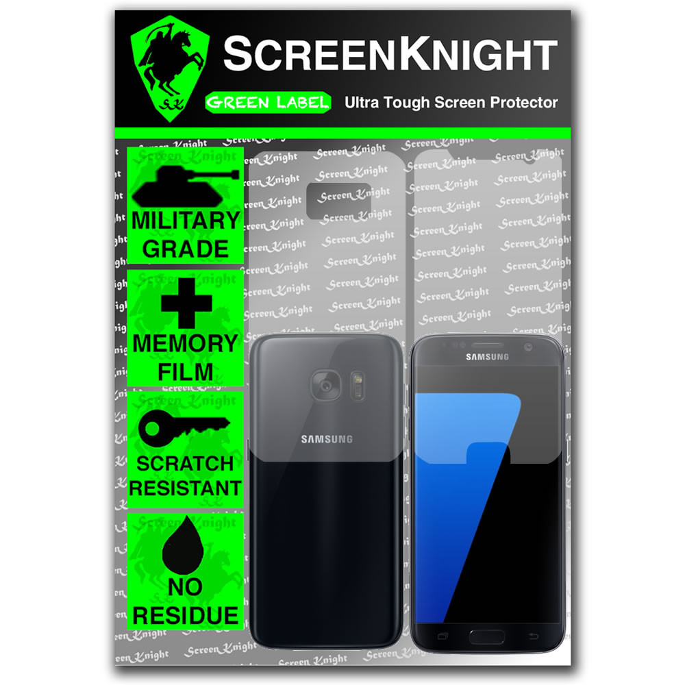 ScreenKnight Samsung Galaxy S7 Full Body Invisible Shield