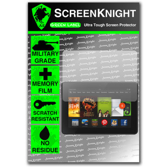 "ScreenKnight Amazon Kindle Fire HD 7"" 2013 Front Invisible Shield"
